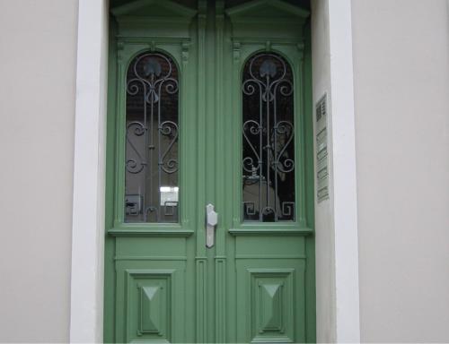 Restaurierung Historische Tür